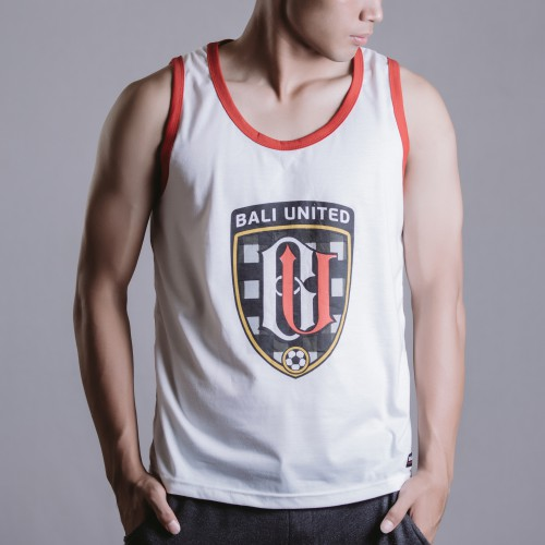 Serdadu Stripe Tank Red