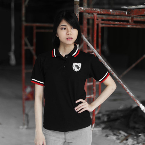 Blck Wmn Polo Shirt HD