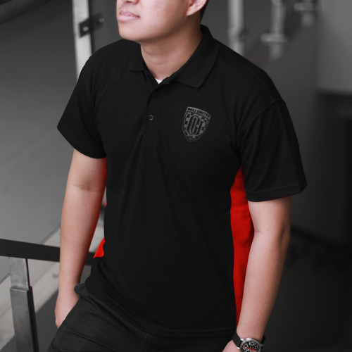 Black Monochrome Polo Shirt
