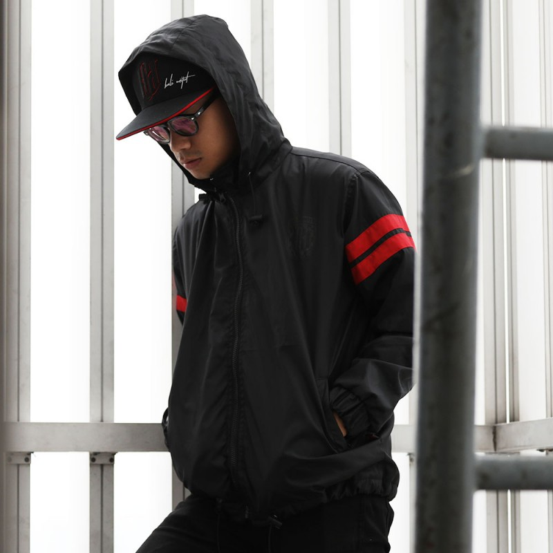 Black Stripee Jacket