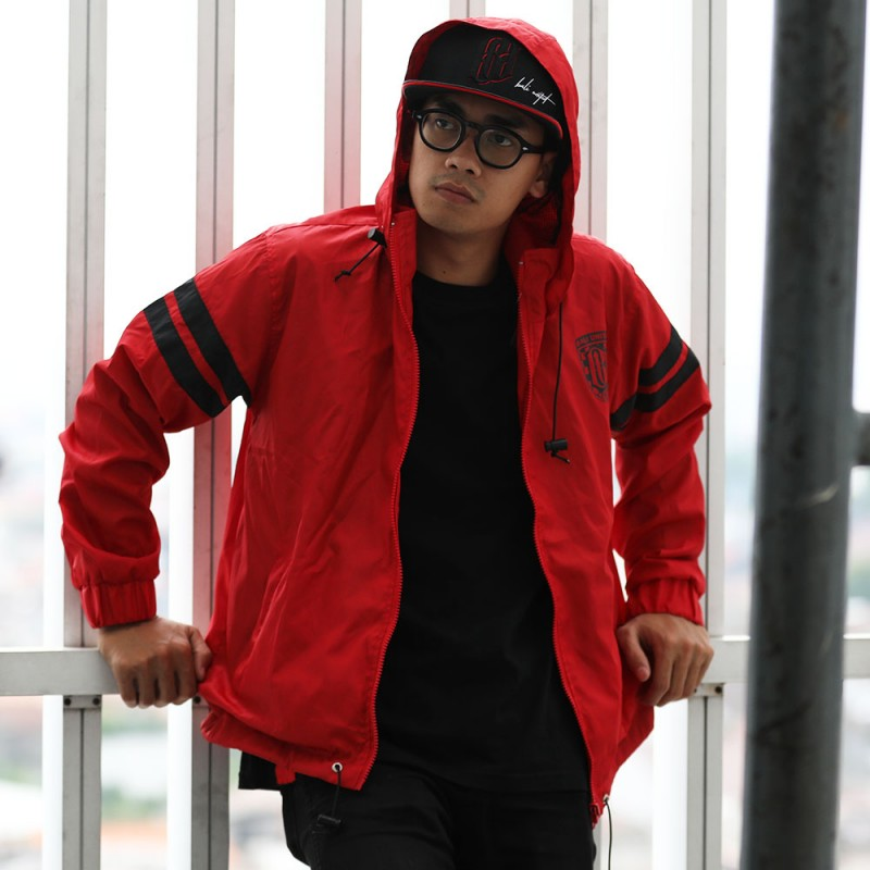 Red Stripee Jacket