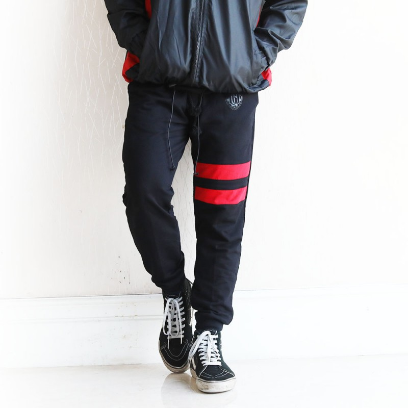 Red Stripes Men's Jogger