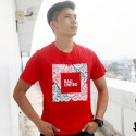Red Barong Siluet Square