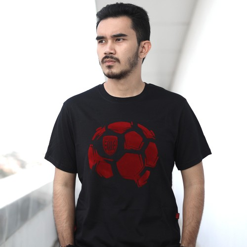 Black Ball Flocking Tshirt