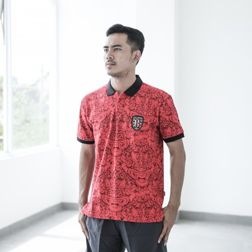 Red Barong Polo Shirt