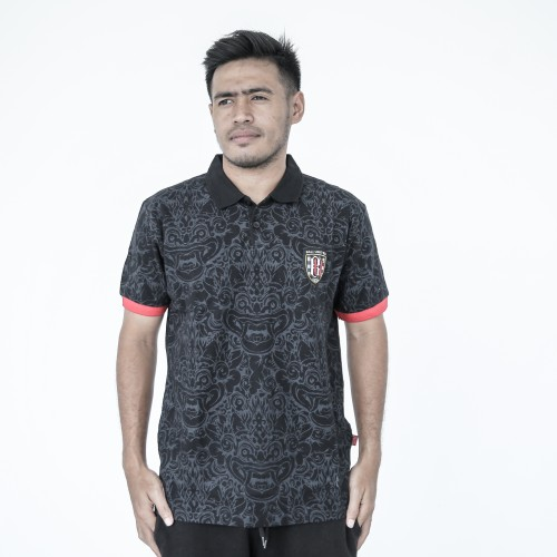 Black Barong Polo  Shirt