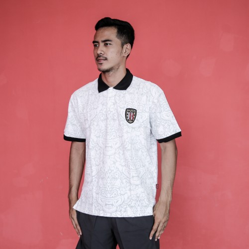 White Barong Polo Shirt