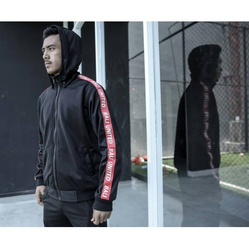 Logo Tape Black Jacket