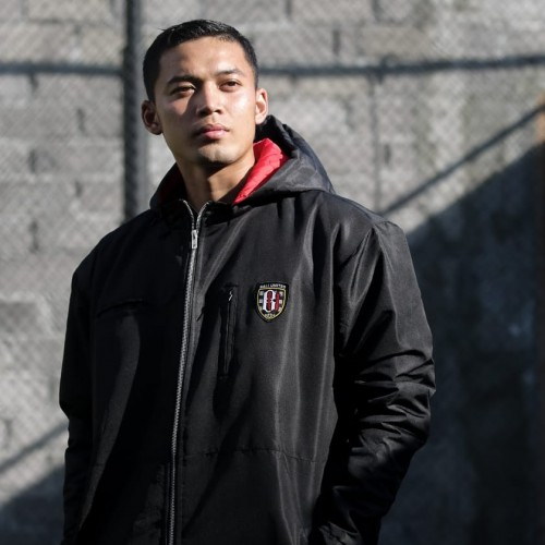 Black Bali Utd Windbreaker