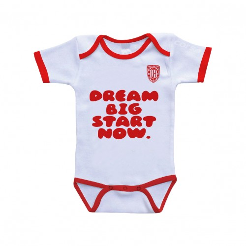 white Dream Big Baby Jumper 2018