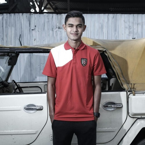 The Coach Red Polo Shirt