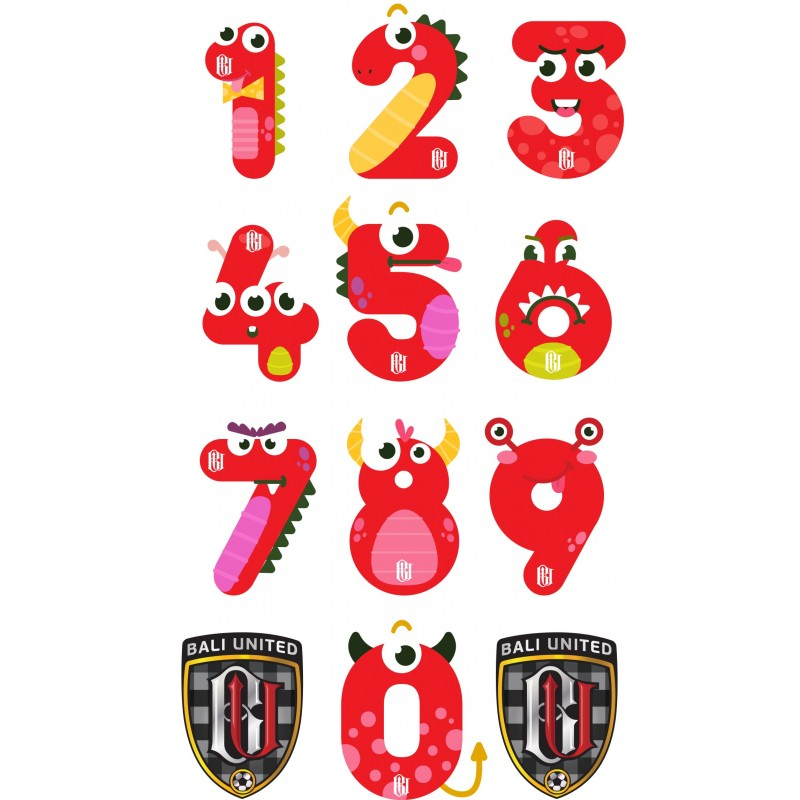 Sticker Numbers