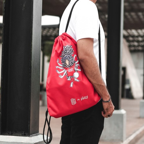Red Drawstring Bag BU X VNZL