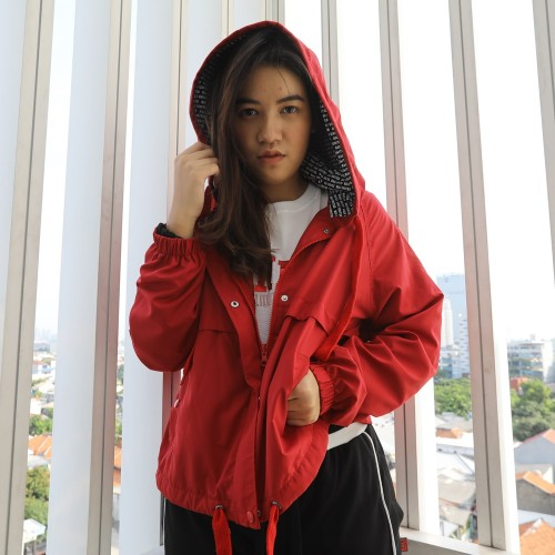 RED Parachute Jacket BU